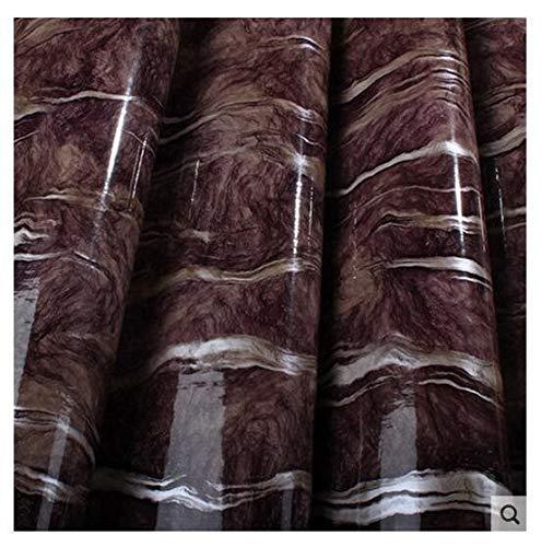 5 Metros PVC mármol Autoadhesivo Fondo de Pantalla renovación de renovación Azulejos backsplash Vinilo Pegatina de Pared hogar Decorativo Cine (Color : DSL507, Dimensions : 5m X 60cm)