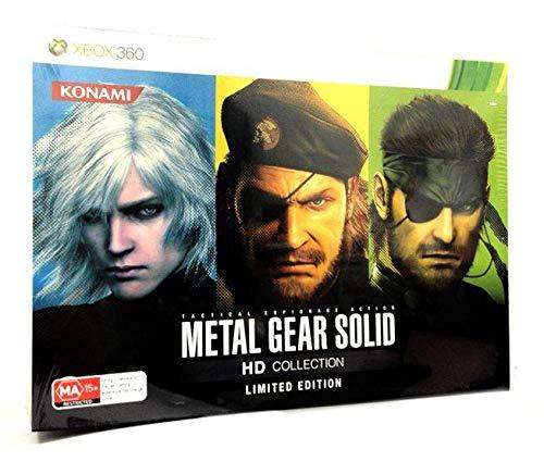 Metal Gear Solid HD Collection Limited Edition Xbox 36O Versión Pal #1