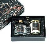 Juego de bayas mixtas y Gardenia 2 en 1, vela y difusor