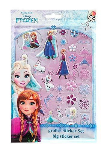 La Reine des neiges stickers Anna & Elsa