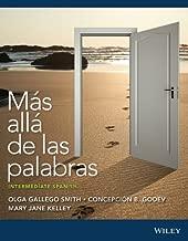 Mas alla de las palabras: Intermediate Spanish 3e, with accompanying audio registration card + WileyPLUS Registration Card (Wiley Plus Products)