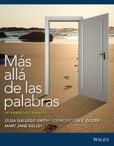 Más allá de las palabras: Intermediate Spanish (Spanish Edition)