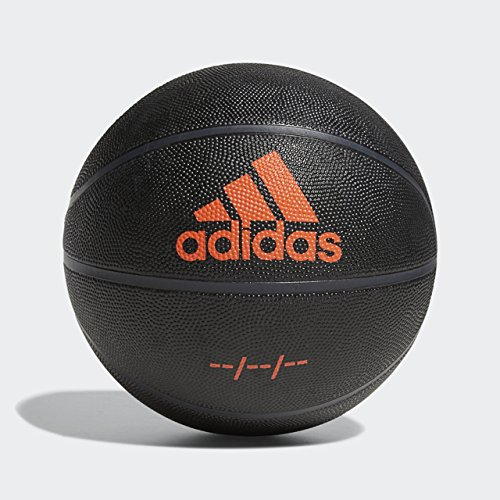 adidas F18BMROS800 Derrick Rose Signature Basketball, Black/Raw Amber,...