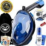Fitcro Premium Tauchermaske, Dark Blue, L-XL