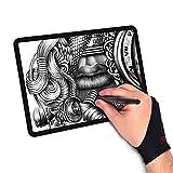 BFALL Guante del Artista para tabletas graficas y Dibujo (1 pza) Ch, MD y GD (Mediano)