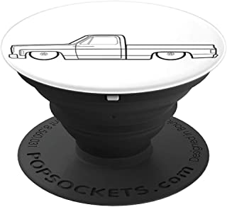 Gravy Gear Squarebody 73-87 Vintage Truck PopSockets Phone - PopSockets Grip and Stand for Phones and Tablets
