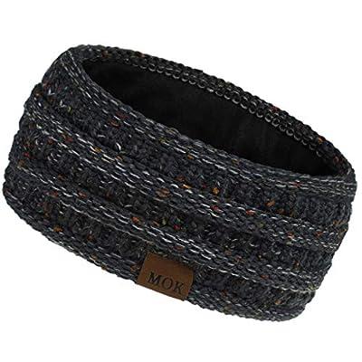 Amazon - Save 80%: Warm Winter Headband for Women Hairband Fuzzy Fleece Lined Stretch Thic…