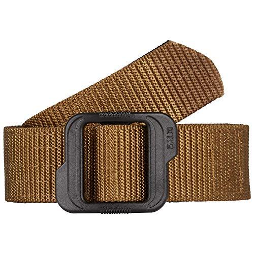 5.11 Double Duty 120 TDU Belt - Bolsa/Cinturón para presas de Caza, Color marrón, Talla L