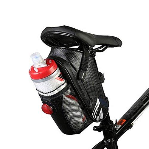 XPhonew résistant aux déchirures en fibre de carbone étanche Sac de selle de vélo de rangement...