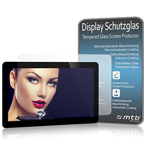 mtb more energy® Premium Schutzglas für Huawei MediaPad T5 10.1'' (AGS2-W09, L09…) - 9H - Kratzfest - Tempered Glass Display Schutzfolie Glasfolie