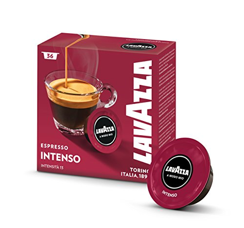 Capsule Lavazza A Modo Mio Espresso Intenso - 10 confezioni da 36 capsule [Tot. 360 capsule]