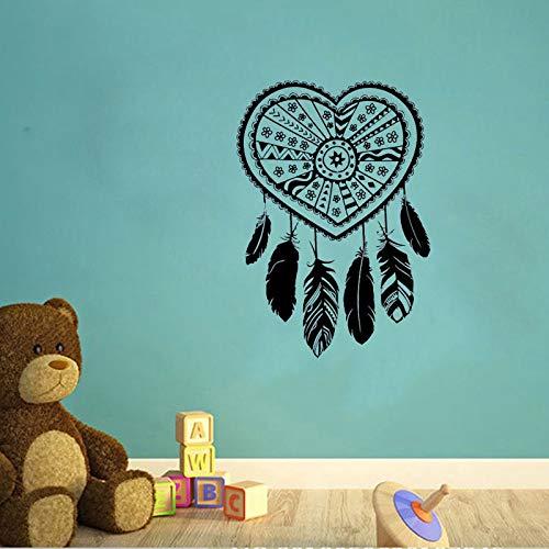 hllhpc Creativo atrapasueños Mural de Pared Dreamcatcher corazón ...
