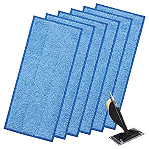 6pcs Almohadillas para trapeadores de Limpieza de Polvo Toallitas Almohadillas de Cabezales de trapeador Reutilizables para Piezas de barredoras domésticas Dusters # 35-A, Estados Unidos
