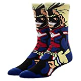 All Might 360 Character Crew Socks