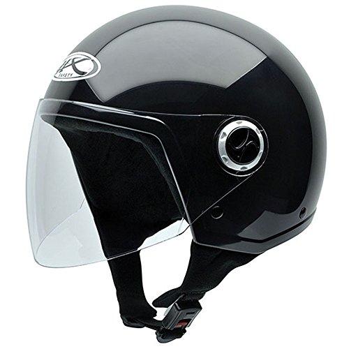 NZI Homologado Shield Motorradhelm, Schwarz, 58