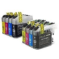 LC111-4PK ブラザー互換インクカートリッジ brother LC111シリーズ 4色セット+4色洗浄液 ベンチャートナー