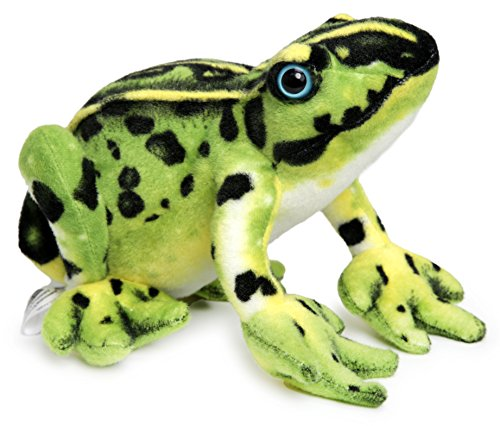 VIAHART Frisco The Frog | 10 Inch Poison Dart Tree Toad Stuffed Animal Plush | by Tiger Tale Toys
