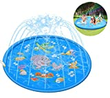 Kimi House 60 inch Splash Play Mat,Sprinkler...