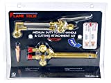 FlameTech VMCATH-CS Medium Duty Torch Handle and Cutting Attachment Set, Victor Compatible
