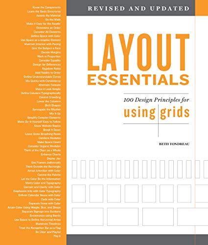 Layout Essentials Revised and Updated:100 Design Principles for Using Grids (English Edition)