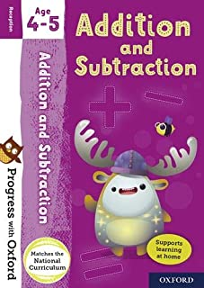 Progress with Oxford: Addition and Subtraction Age 4-5