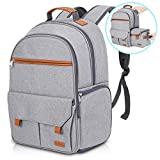 Endurax Waterproof Camera Backpack for Women and Men Fits 15.6' Laptop with Build-in DSLR Shoulder Photographer Bag (Gray)