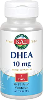 KAL DHEA-10 Tablets, 10mg, 60 Count