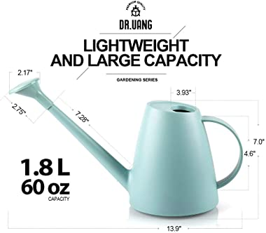 DR.UANG Watering Can for Indoor House Plants Long Spout with Detachable Spray Head Watering Cans for Plant Garden Flower, Lon