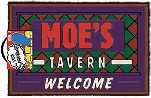 Felpudo Entrada casa Moes Tavern, The Simpsons (40 x 60 cm)