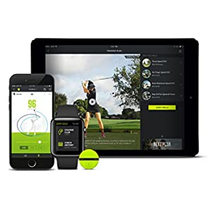 Zepp2 Golf Kit per iPhone/iPad/Android, Sensore Agganciabile con Supporto da Fissare al Guanto, Collegamento in Wireless, Verde