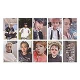 Zhenzhiao 10 Stück/Set Kpop Super Junior 9th Album Time Slip Postkarte Selbstgemachte LOMO Karte...