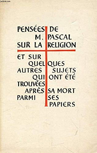 PENSEES Tome I