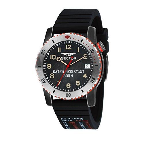 SECTOR Reloj Analógico para Hombre de Cuarzo con Correa en Silicona R3251598001