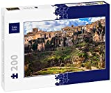 Lais Puzzle Panorama de Cuenca - Ciudad Medieval en Las Rocas, España 200 Piezas