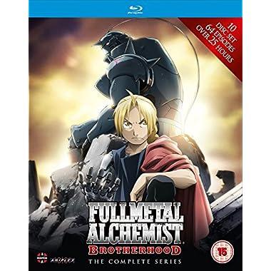 Fullmetal Alchemist Brotherhood-Complete Series [Blu-ray]