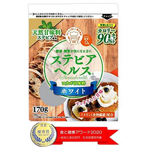 日本リコス ステビアヘルス ホワイト 170g×3個
