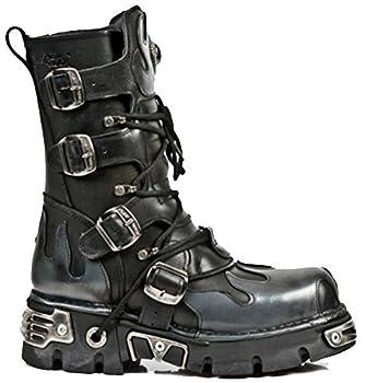 Best black metal boots Reviews