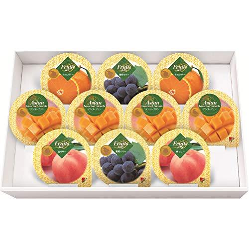 金澤兼六製菓 10個マンゴープリン&フルーツゼリーギフト MF-10
