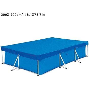 Cobertor para Piscina Rectangular Funda de Tela Impermeable para ...