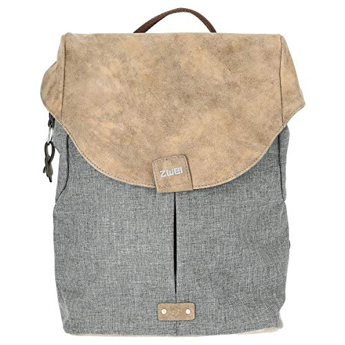 ZWEI Olli O12 Rucksack Backpack Rucksacktasche Handtasche stone grau