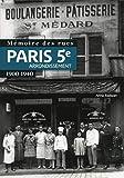 Mémoire des rues - Paris 5e arrondissement (1900-1940)