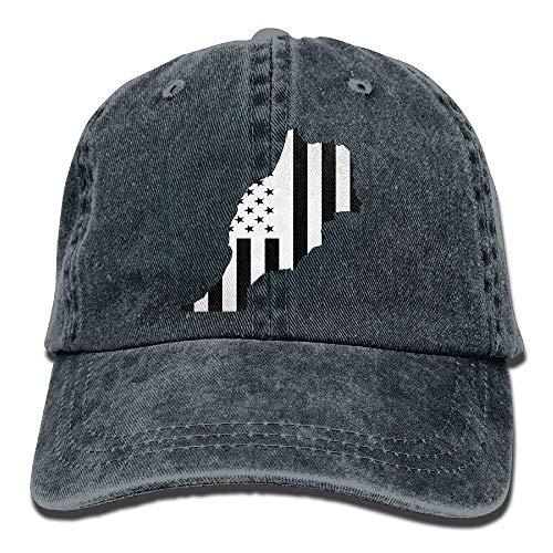 Sombrero de vaquero ajustable bandera americana Marruecos...