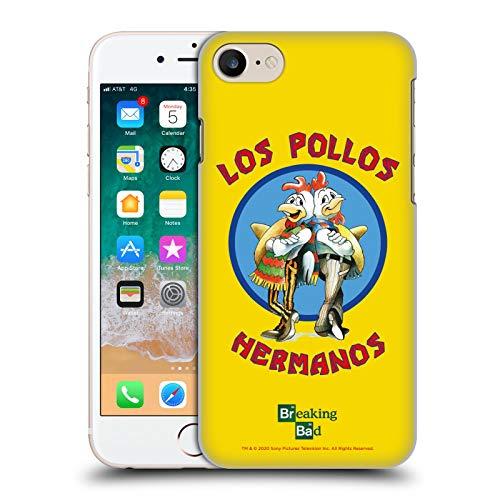 Head Case Designs Licenza Ufficiale Breaking Bad Los Pollos Hermanos Grafiche Cover Dura per Parte Posteriore Compatibile con Apple iPhone 7 / iPhone 8 / iPhone SE 2020