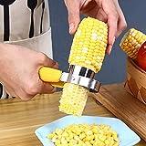 Corn Stripper Fruit,Stainless Steel Corn Cob Remover Cutter Shaver Kitchen Gadgets Accessories