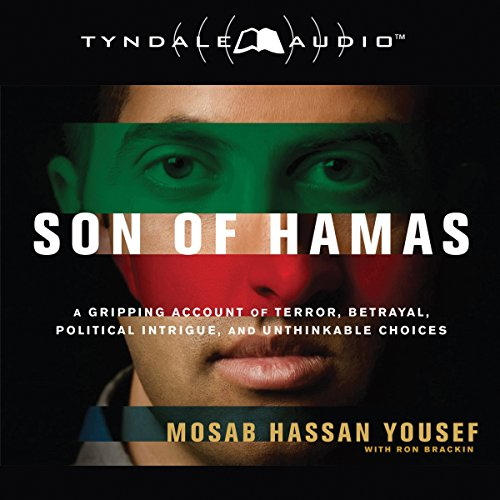 Son of Hamas audiobook cover art