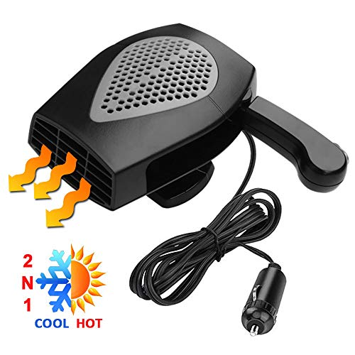 Car Heater, Portable Electronic Auto Heater Fan Fast Heating...