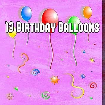 13 Birthday Balloons