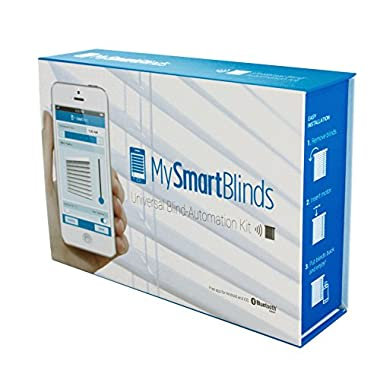 MySmartBlinds Automation Kit   Turn your ordinary blinds into smart automated blinds   Works with Alexa and Google Assistant   Compatible with iOS & Android devices