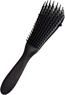 LucaSng Tangle Comb 3A to 4C Tangle Brush for Curled Wavy/Curly/Wet/Dry/Oily/Thick/Long Hair, Knotted and Tangled are Easy...