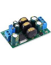 Módulo Convertidor Voltaje, DC-DC Módulo Fuente Alimentación Step Up Down Convertidor Voltaje Boost Buck Ajustable De 20 W Salida Doble Positiva y Negativa 5V-24V a +/-3V-30V Para Amplificador